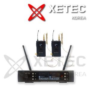 EV-9217B 2채널 무선마이크시스템(바디팩+이어마이크)