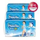 쿨썸머 땀먹는 팬티 대형 남아 38Px3팩(1박스)/기저귀.