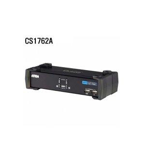 2포트 USB DVI KVMP 스위치 CS1762A