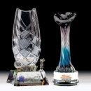 골프 축구 스포츠 우승 기념 크리스탈 트로피
