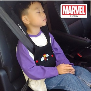 마블 히어로 어린이 어깨끈 안전벨트가드 아이언맨