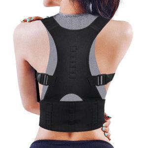 좋은자세밴드 바른자세 말린어깨 허리 목 굽은등_L/XL
