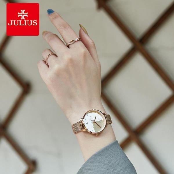 아날로그 여자 매탈밴드 손목시계 데일리 캐쥬얼 캠퍼