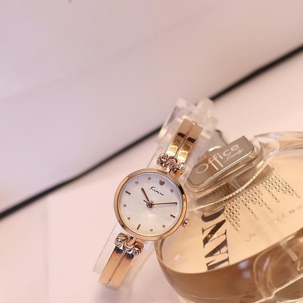 모던 와치 데일리 패션 가죽밴드 여성손목시계 팔찌시