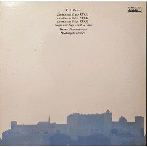 L3988- 일본 클래식LP/ W.A Mozart Divertimento D-dur KV136  Herbert Blomstedt