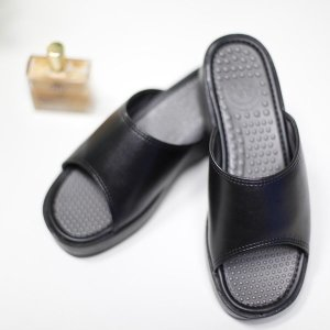 여자 학교 사무실 선생님 실내 통굽 슬리퍼 신발 실내