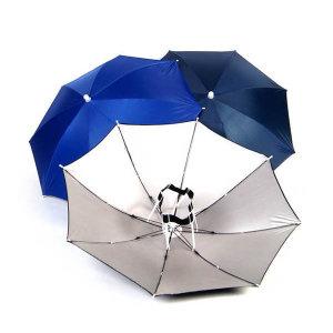 원터치 모자우산 낚시우산 캠핑우산 라이딩 머리우산