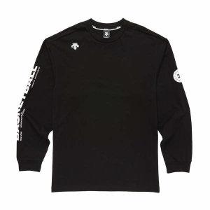 (현대Hmall) 데상트  남여공용 3X3 농구 오버핏 긴팔 티셔츠 (S9323HTL84)