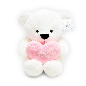 하트 핑크 곰인형(소50cm) KC인증 곰돌이인형