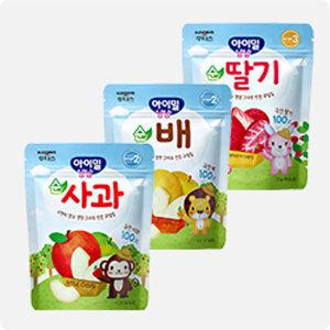 특가전 후디스 아이밀냠냠 동결건조 과일칩 - 순딸기