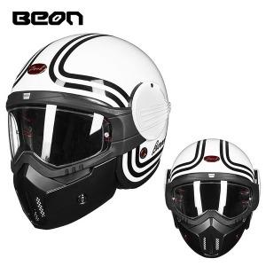 BEON 더블쉘드헬멧 바이크 풀페이스 시스템 헬멧