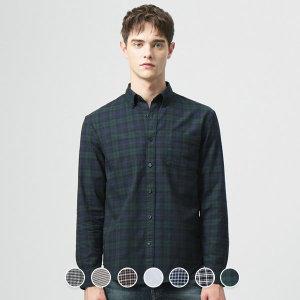 지오다노 049905 옥스포드 셔츠 (패턴)