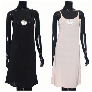 여성 속옷/원피스 속치마/잠옷/인견 롱 슬립 1003