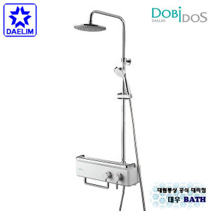 FB1669 대림 욕실수전 샤워수전 선반형 해바라기 샤워