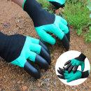 원예용 안전장갑 양손 갈고리 방수장갑 코팅장갑 벌초