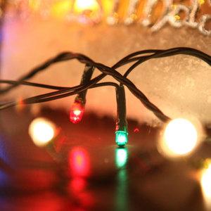 120P 멜로디전구 녹색선 트리 캠핑 크리스마스 TRLEDB/ 플라워트리