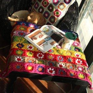 스칸디나비아 뜨개질 식탁보 B형 뜨개질 북유럽디자인