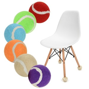 예쁜7칼라 층간소음방지 의자다리커버 테니스공발싸개