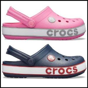 (현대백화점)크록스 아동 크록밴드 볼드로고 클로그 키즈 206022(2컬러택1) HMDS 신발 슬리퍼 샌들 여름 휴