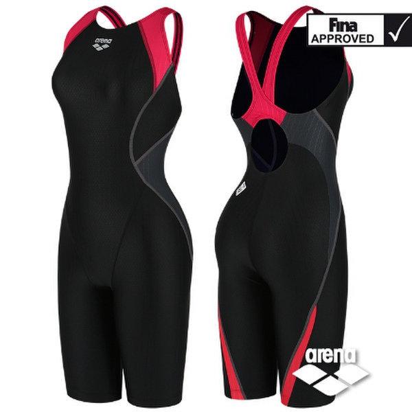 (대구신세계)여성 선수 수입 FINA 4부 반신 실내수영복(브라+지퍼증정)(AVSIL16)BRD