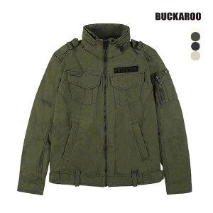 BUCKAROO 남성 하이넥 쇼트 야상 점퍼(B164JP330P)