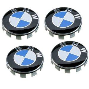 BMW 휠 로고 캡 휠 캡 휠 센터 캡 클립 바퀴 로고 캡