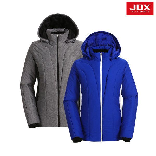JDX골프스포츠  (여성)사이바 배색 포인트 패딩 점퍼_X1NWWBW01