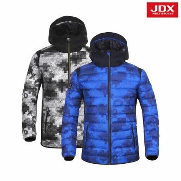JDX골프스포츠  (남성)전판프린트 배색 경량다운_X3NWWDM02