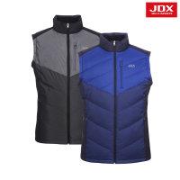 JDX골프스포츠  (남성)멀티 컬러 블럭 중량 다운 베스트_X1NWWVM01