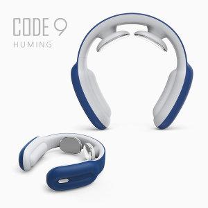 저주파 목안마기 목마사지기 어깨 무선 휴대용 블루