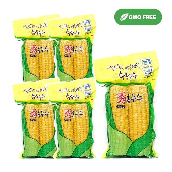 노랑 수옥수수 5팩(10개입) /진공포장