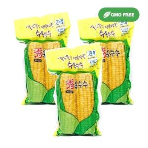 노랑 수옥수수 6개(3팩) /레토르트진공포장