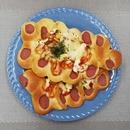 경성명과 수제 야채피자빵3개 + 야채소시지빵3개