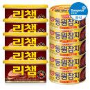 김치찌개용 참치 100g 5캔+매운 리챔 200g 5캔