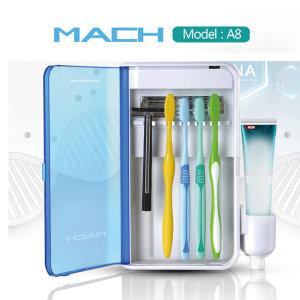 마하 A8 UV 칫솔살균기 원적외선 욕실용품 칫솔걸이