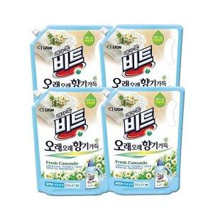 비트 향기오래 액체세제 일반용 2L 리필 4개