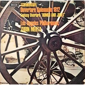 L4013- 클래식LP/ TCHAIKOVSKY (서곡 1812년/ ROMEO AND JULIET)-LA 필/ ZUBIN MEHTA