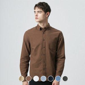 (지오다노) 049905 옥스포드 셔츠 (솔리드)/ 지오다노