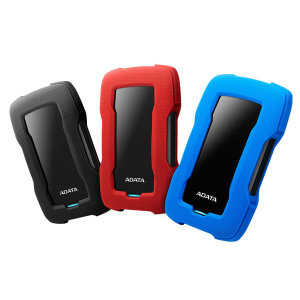 ADATA HD330 Durable Lite 4TB 외장하드 블랙