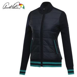 패딩배색 퀼팅 여성 방풍니트 바람막이 점퍼/골프웨어_ALW7SC11/ 아놀드파마
