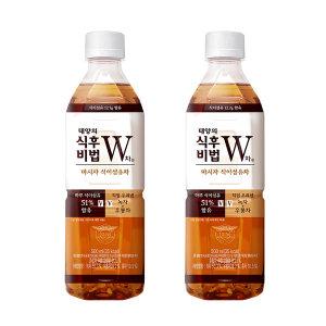 (본사직영) 식후비법 W차 500ml PET 24입