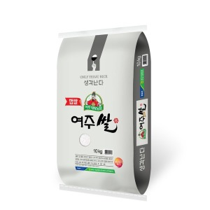 2019년햅쌀 여주농협 대왕님표여주쌀(히토메보레)10kg