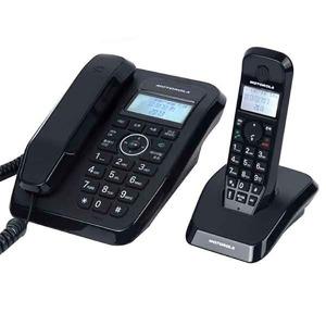 유무선 전화기 SC250A 블랙 자동응답 녹음 발신자표시