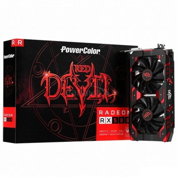 PowerColor 라데온 RX 580 8GB 붉은악마 무상20년12월