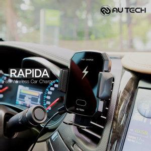 라피다 3세대 10W 차량용 무선 고속충전 거치대