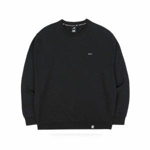 (현대백화점) 캉골  클럽 오버사이즈 스웨트셔츠 1613 블랙 (의류/긴팔/맨투맨)