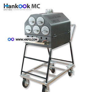 한국기계 HIT 이동식 가스 군고구마통/군고구마기계