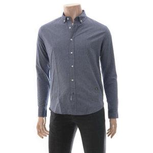 남성 솔리드 옥스퍼드 셔츠 H175M201