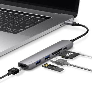 6IN1 카드리더 HDMI USB-C타입 멀티허브