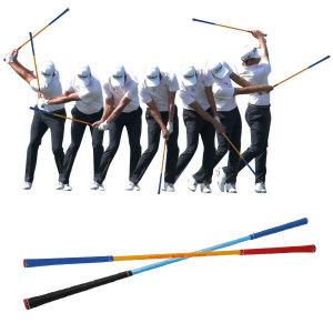(현대Hmall)제이빅-피스탑 야누스틱/골프 스윙연습기/투웨이 골프연습기/양방향 골프연습기